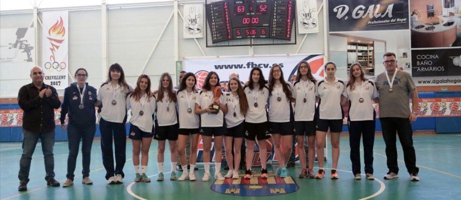El Júnior VRBC millor equip femení a la Gala de l'Esport