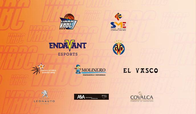 El VRBC agraeix el suport dels seus patrocinadors